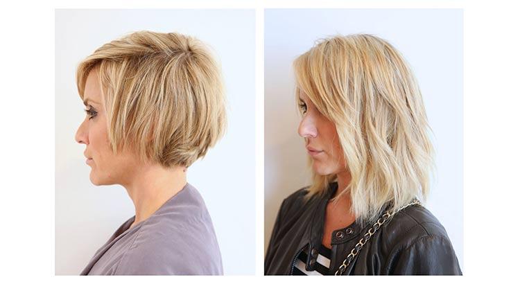extensiones pelo cabello corto